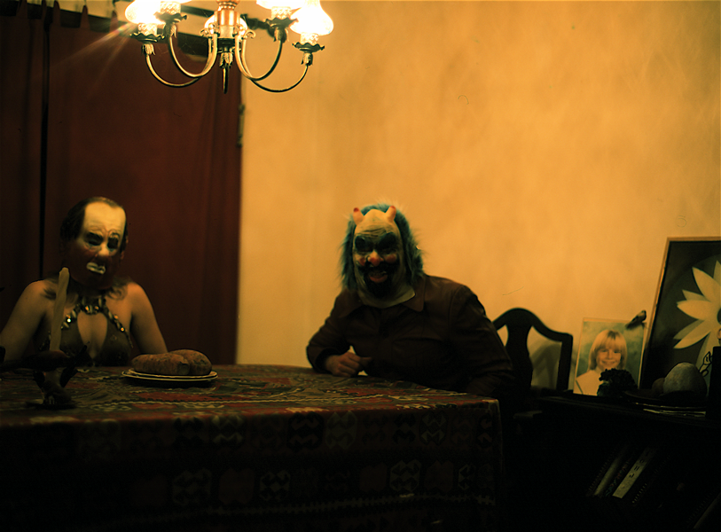 Dinner Table // Color Photograph.