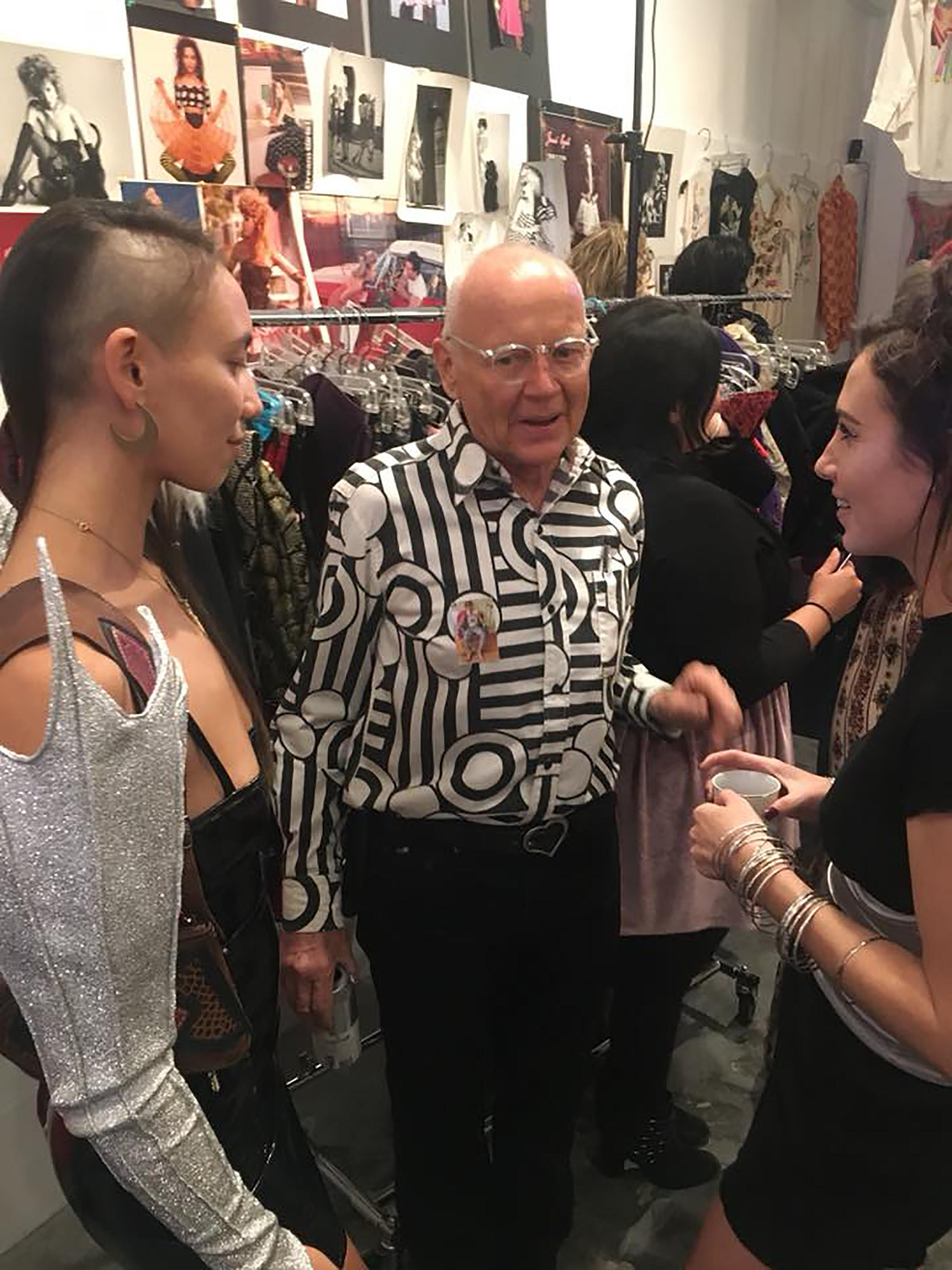 klaus with fashionista