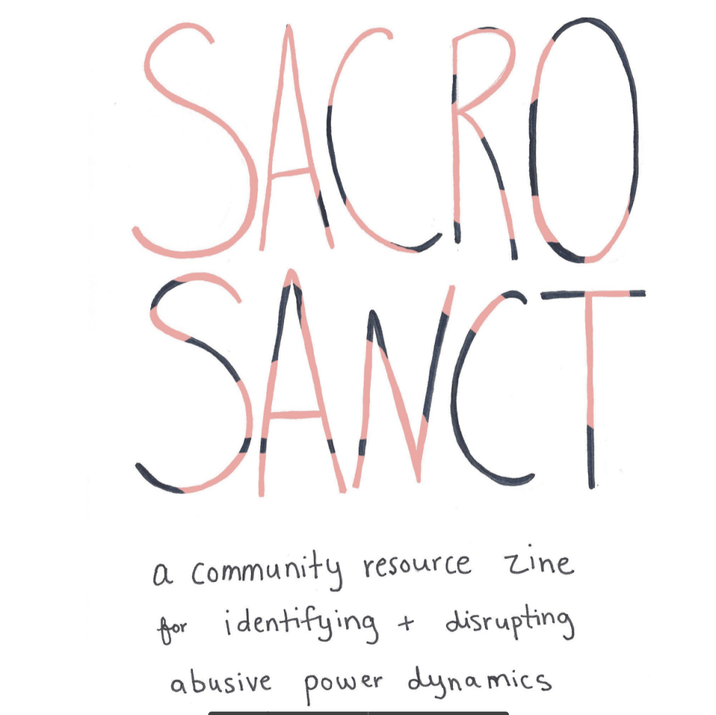 Image of Sancrosant Community Zine